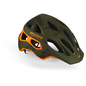 Rudy Project Protera Helmet Green Camo/Orange